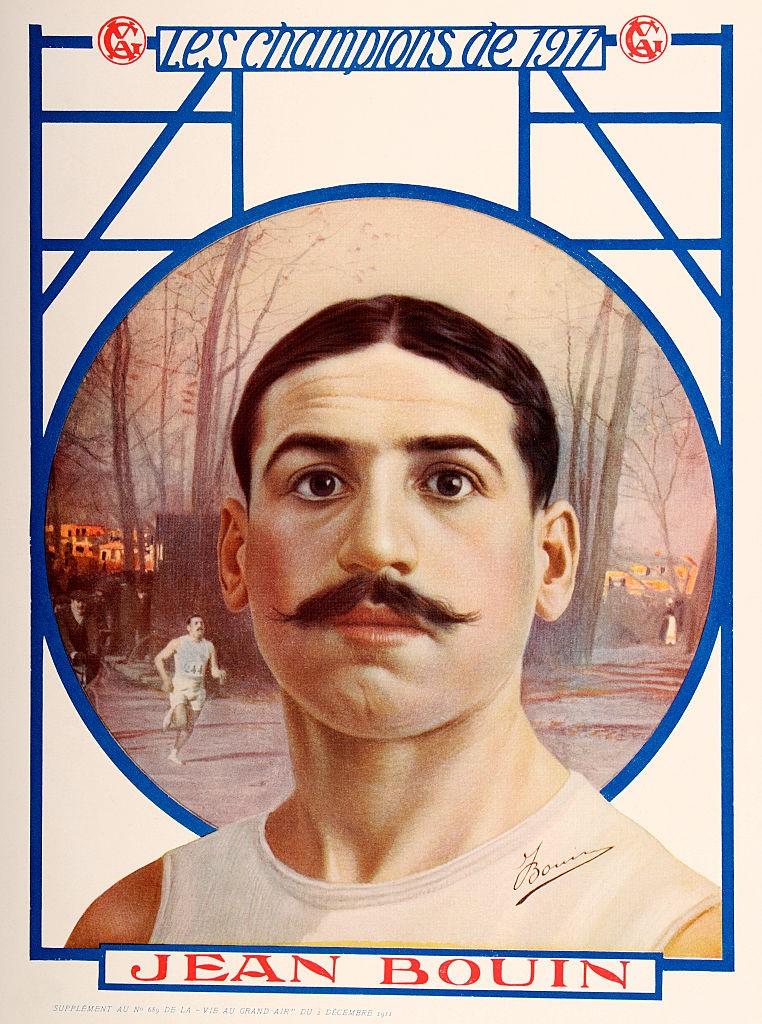 Jean Bouin, champion de l'année 1911