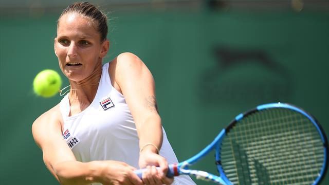 Third-seeded Karolina Pliskova reaches 3rd round at Wimbledon