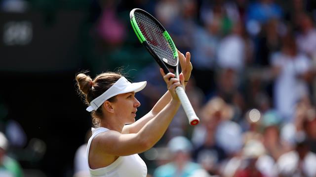Simona Halep, testa e tennis: domata la Zhang, la romena è in semifinale