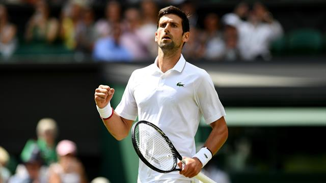 Djokovic begins title defence with win over Kohlschreiber