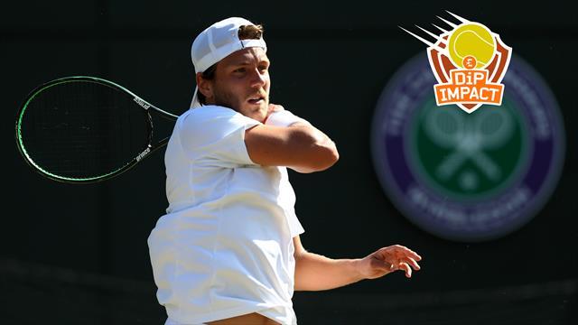 """Pouille peut-il tenir tête à Federer à Wimbledon ? """"Qu'il passe Richard d'abord !"""""""