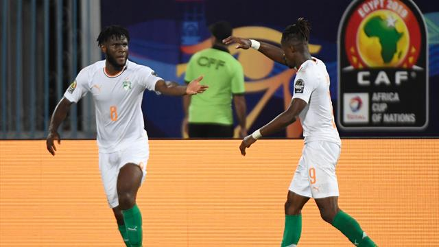 Zaha scores his first goal of tournament for Ivory Coast