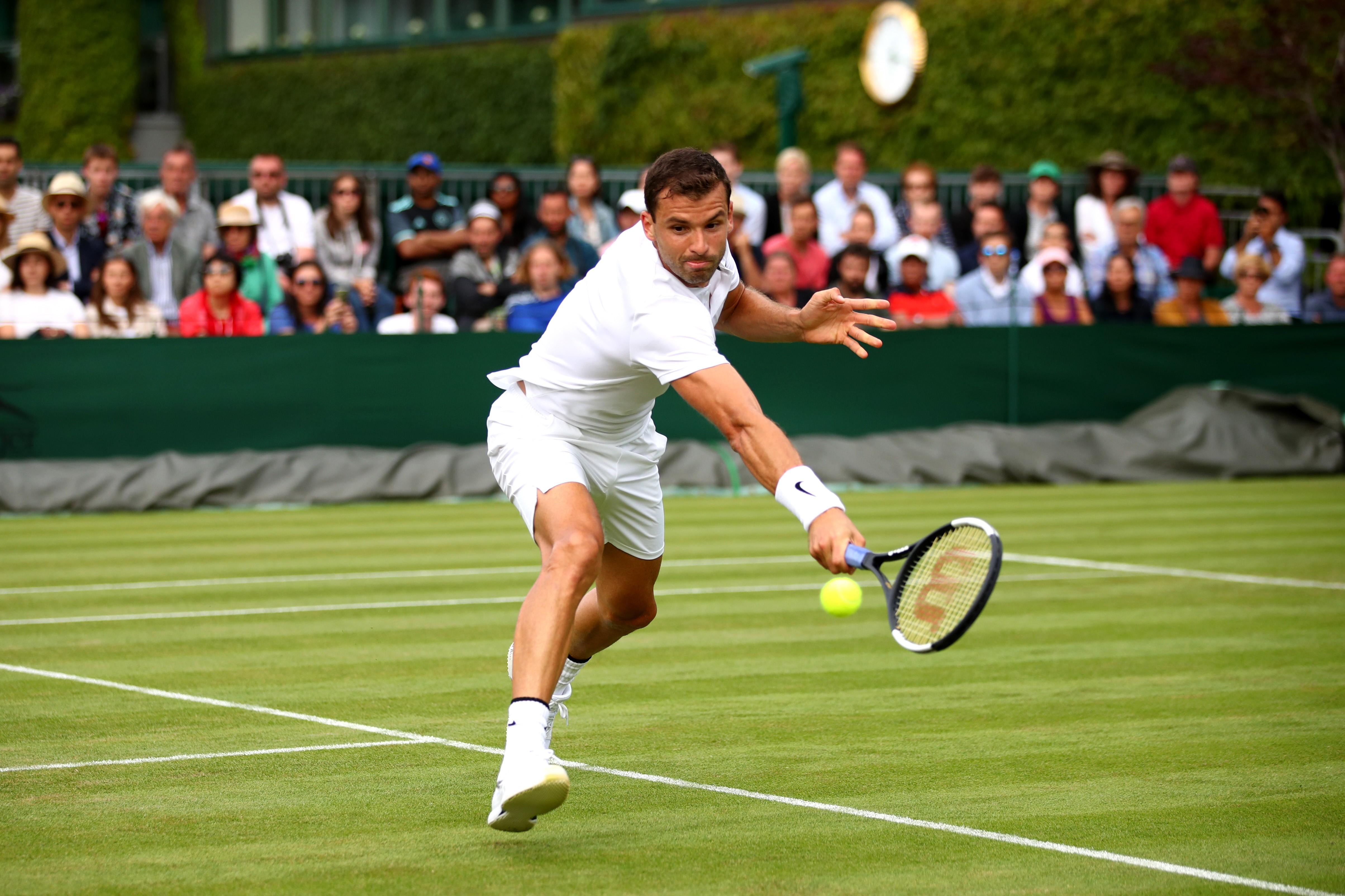 Grigor Dimitrov - Wimbledon 2019