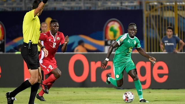 Mane on target with counter-attack goal for Senegal