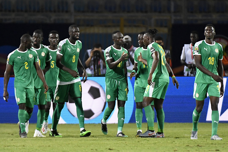 Sadio Mane buteur pour le Sénégal contre la Tanzanie lors de la Coupe d'Afrique des nations 2019