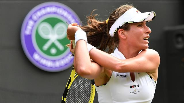 Brit Watch: Clinical Konta powers through, Clarke books Federer date