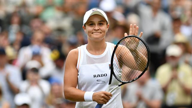Women's round-up: Barty begins campaign with win, Sharapova and Muguruza dumped out