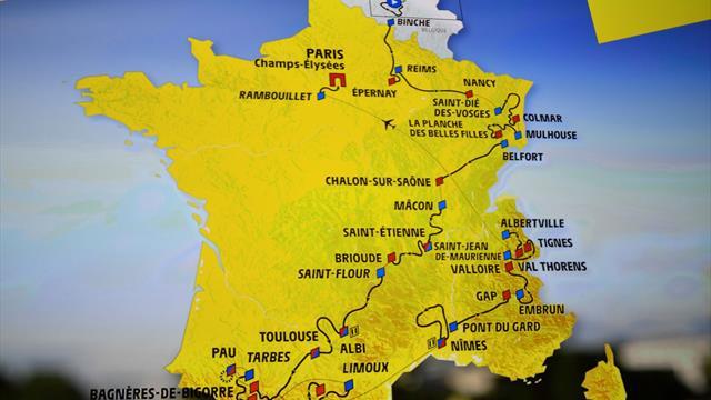 Подробната програма на Тур дьо Франс 2019