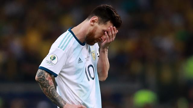 Messi's misery: 'We had chances to end Brazil hoodoo'