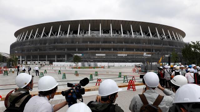 El estadio olímpico de Tokio 2020, casi listo a un año de la gran cita