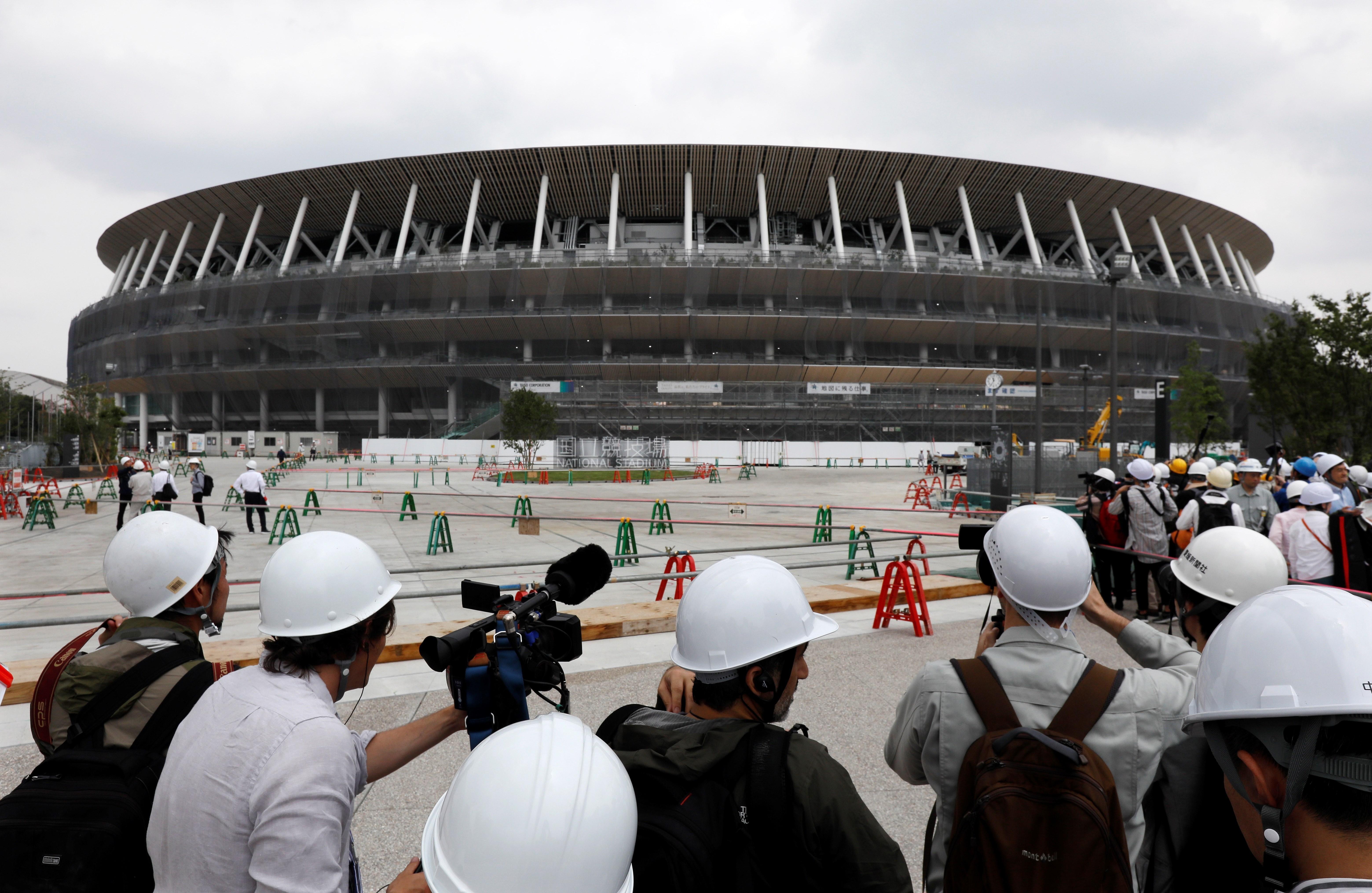 Tokyo Olimpiyat Stadyumu (2020 Tokyo Olimpiyatları)