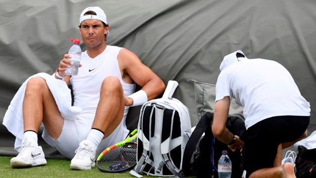 Wimbledon 2019: Nadal prepara en familia su duelo contra Tsonga