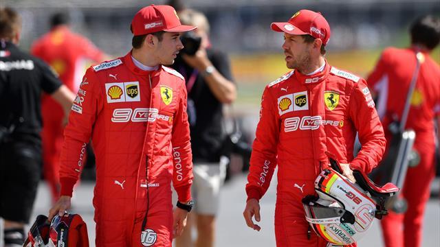 """Leclerc: """"Duelli ruota a ruota? Ben vengano"""", Vettel: """"Stagione con troppi alti e bassi"""""""