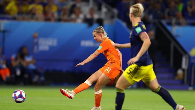 Holanda-Suecia: El '14' nunca les falla (1-0)