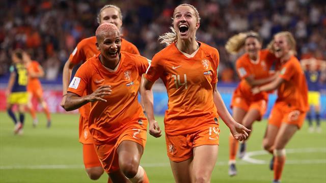 Grande première pour les Pays-Bas