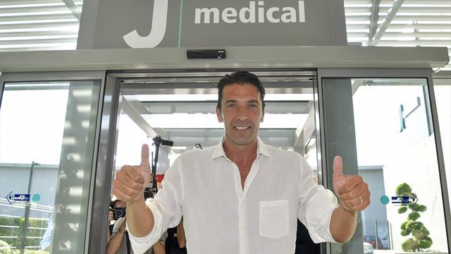 Buffon seals Juventus return