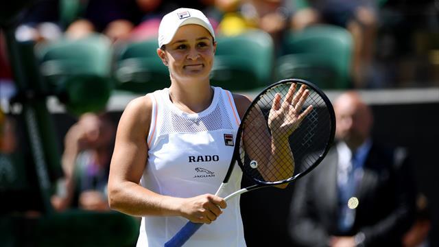 Barty stürmt in die dritte Runde von Wimbledon