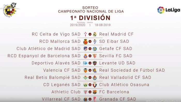imágenes oficiales tienda del reino unido precio limitado Athletic-Barça, Atlético-Getafe y Celta-Real Madrid para ...