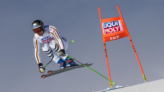 """Dreßen zurück auf Skiern: """"Dem Knie geht es super"""""""