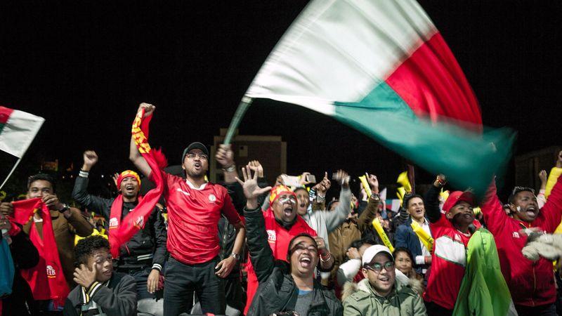 La joie à Antananarivo après la qualification des Malgaches pour les 8es de finale