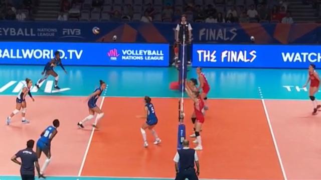 Volleyball Nations League: Italia-Turchia 0-3, gli highlights
