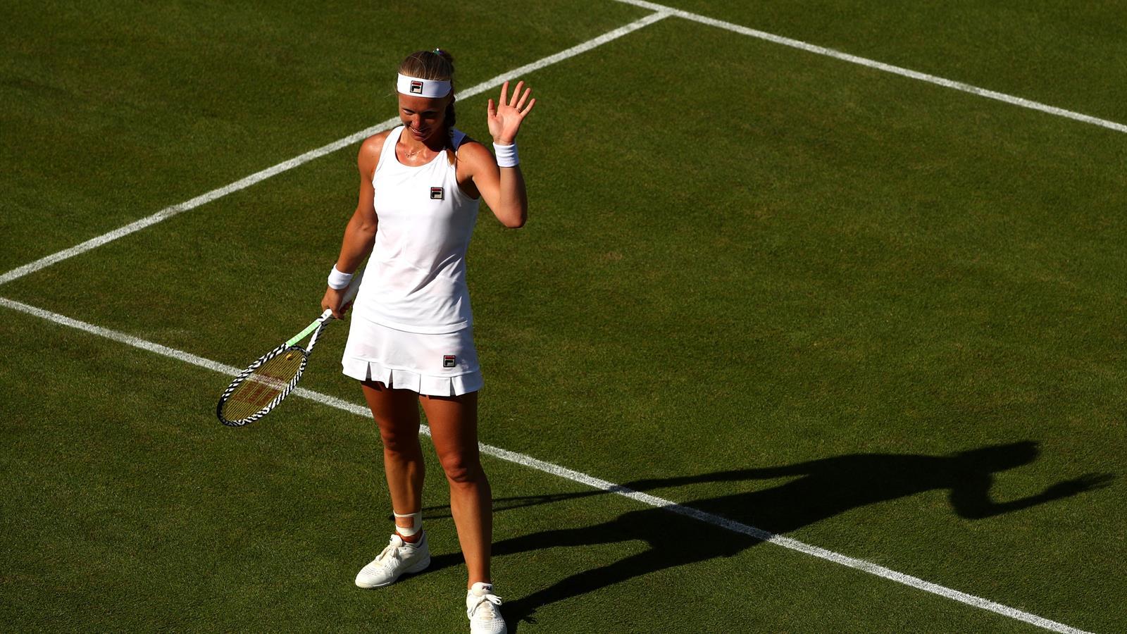 Samenvatting Kiki Bertens - Taylor Townsend (Wimbledon)