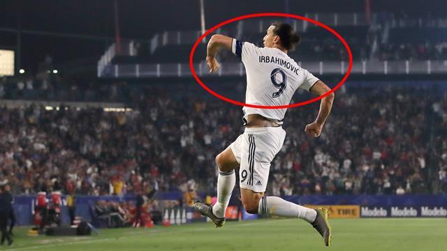 Zlatan Ibrahimovic si trasforma in IRBahimovic e fa volare i Galaxy: doppietta contro Toronto