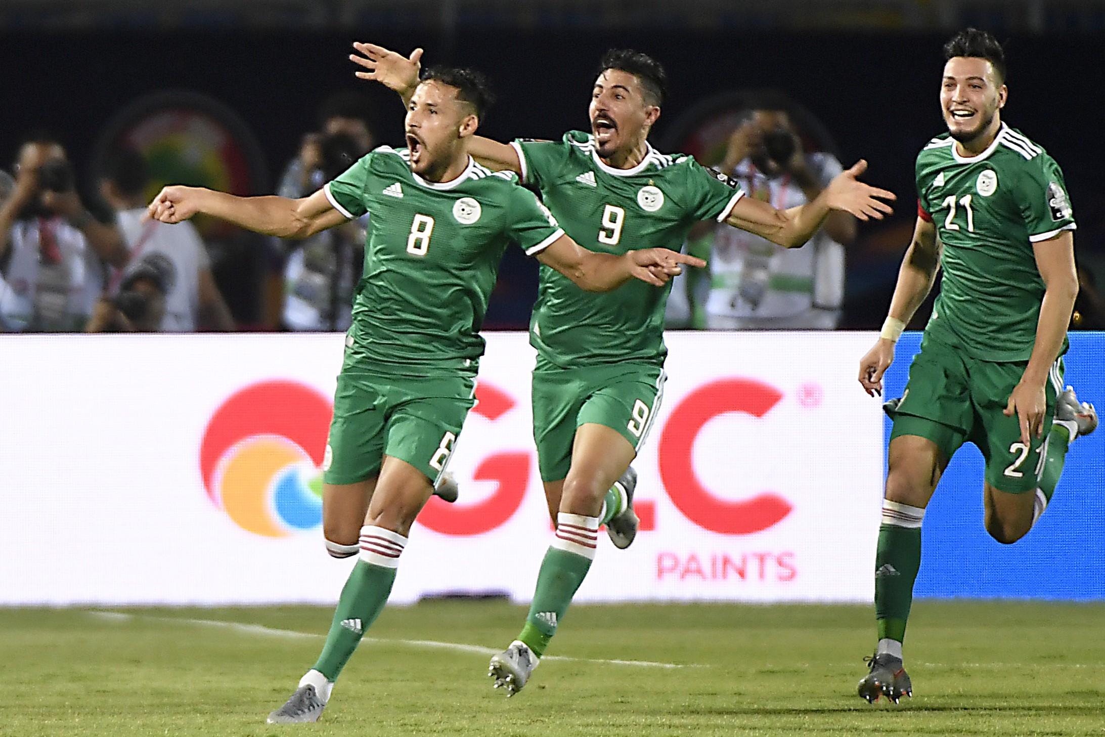 Youcef Belaili buteur pour l'Algérie contre le Sénégal en Coupe d'Afrique des nations 2019