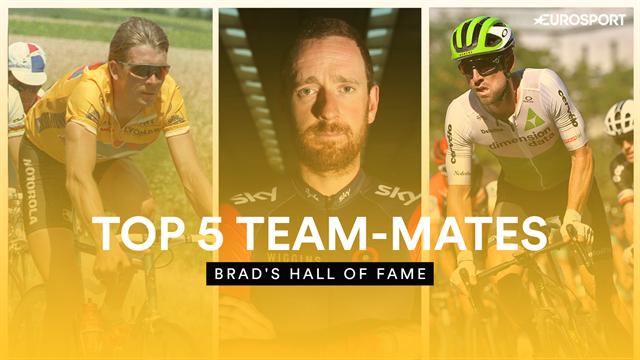 Brad's Hall of Fame - Wiggins picks his top 5 cycling team-mates