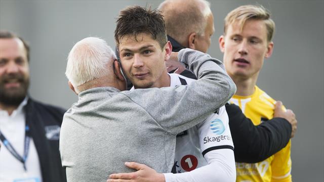 Ustoppelige Børven reddet Odd i toppkampen – Molde kan ha grunn til bekymring