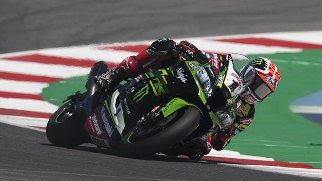 Rea wins again at Donington Park