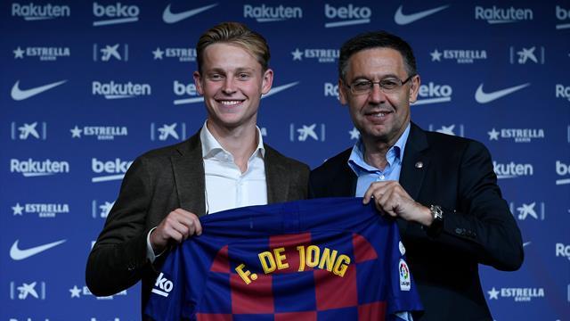 De Jong a refusé le numéro 14 — Barça