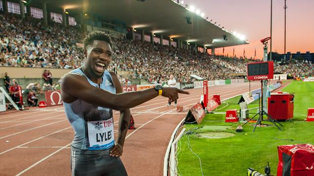 Noah Lyles storms to 200m win in Lausanne