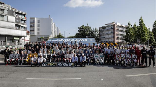 Les pilotes du WTCR céèbrent le demi-siècle de Vila Real