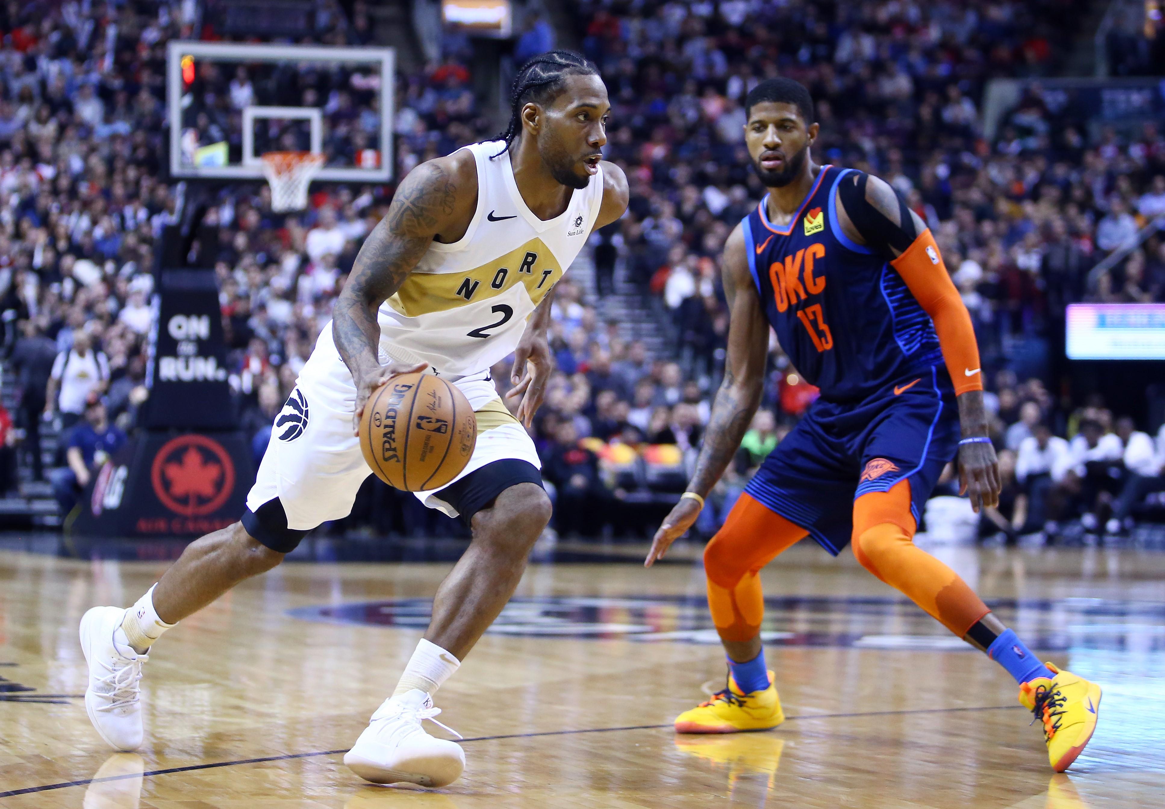 Kawhi Leonard ve Paul George, önümüzdeki sezon Los Angeles Clippers'ta buluşacaklar.
