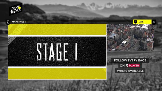 Stage 1 profile: Challenging climbs set to finish with a bunch sprint