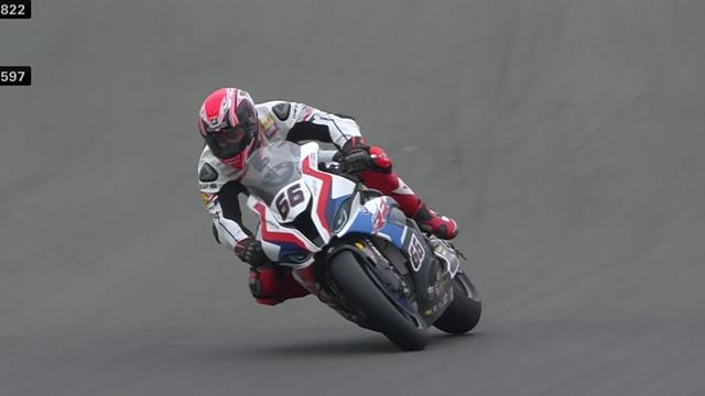 Tom Sykes bags pole at Donington