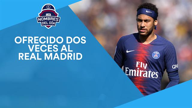 Neymar, Icardi, Vidal, Luca Zidane y Overmars, los nombres del día