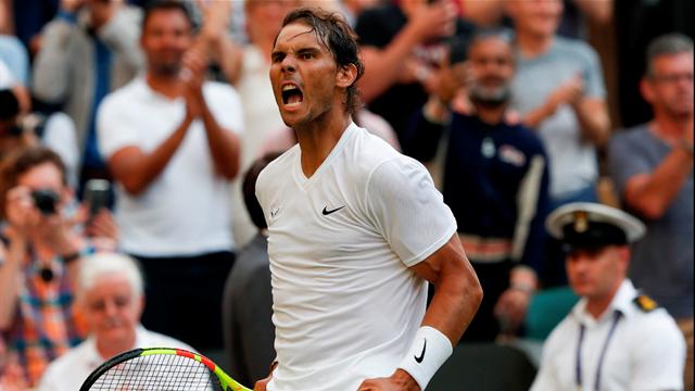 Attention, Nadal arrive lancé comme une balle