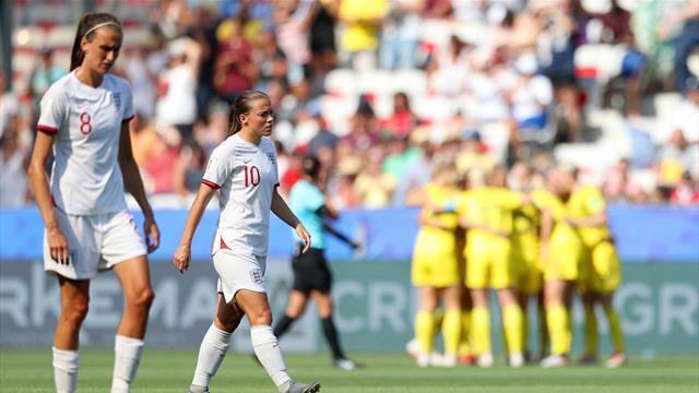 Comme les hommes, les Anglaises ont échoué au pied du podium