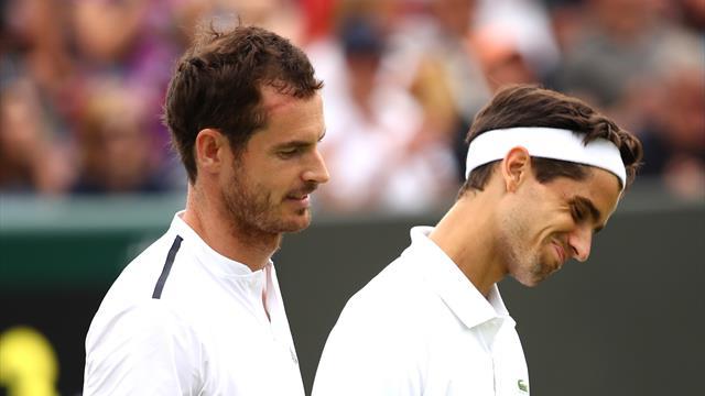 Wimbledon : le double Herbert-Murray battu au deuxième tour - Wimbledon (DH)