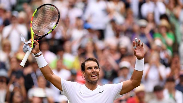 Nadal videre til fjerde runde i Wimbledon