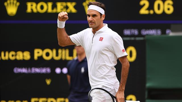 Tout en maîtrise, Federer a mis fin aux espoirs de Pouille