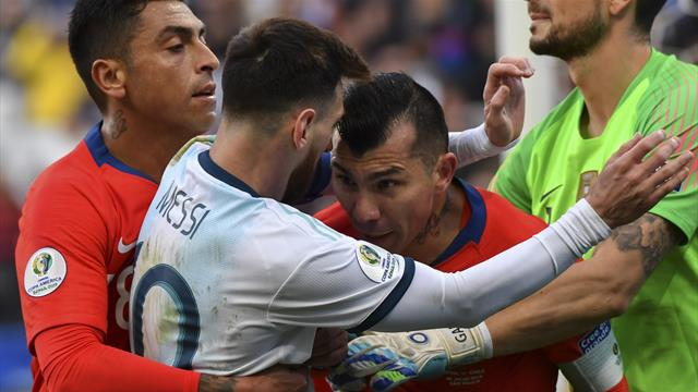 Angry Messi slams 'Brazil fix' after Copa red card