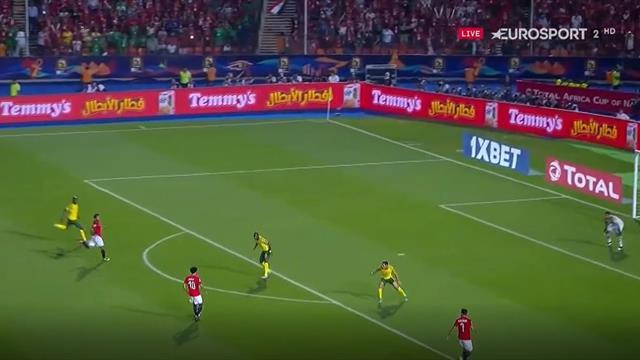 Sudáfrica se carga a Egipto y se clasifica a cuartos de final