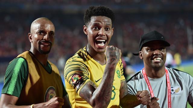 Egitto-Sudafrica 0-1, i padroni di casa escono di scena e i Bafana Bafana vanno ai quarti