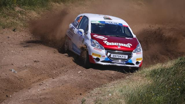 Fifth place provides salvation for Antunes in ERC