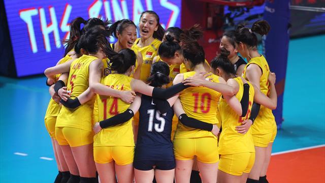 VNL, Turchia sconfitta: il bronzo va alla Cina