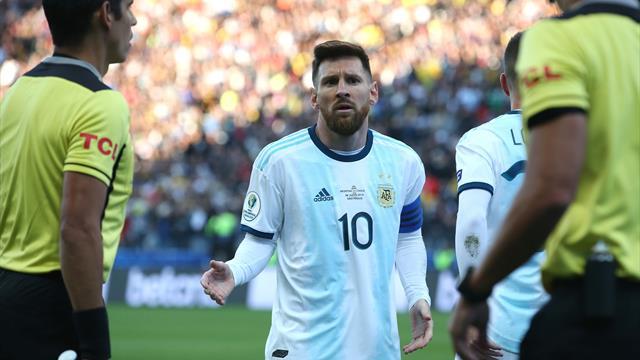 Messi suspendu trois mois en sélection nationale