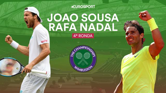 Wimbledon 2019, Sousa-Nadal: Un viejo conocido para arrancar la segunda semana (14:00)